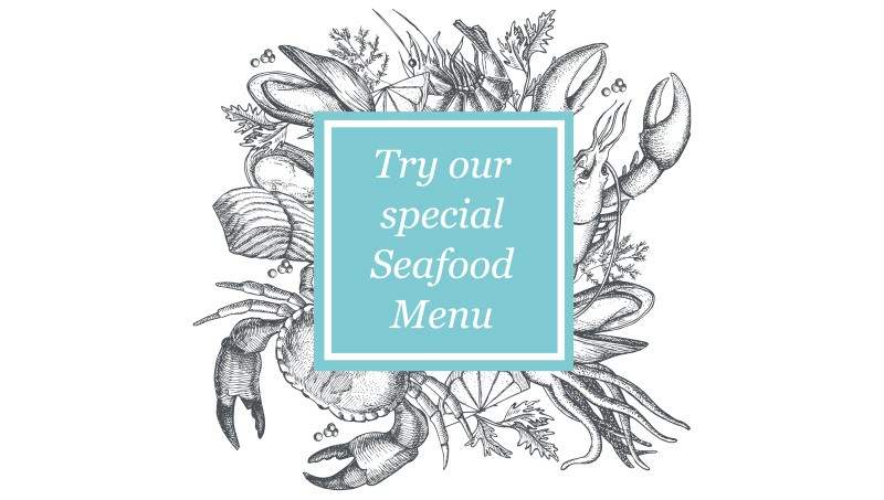 The Chelsea Seafood Menu