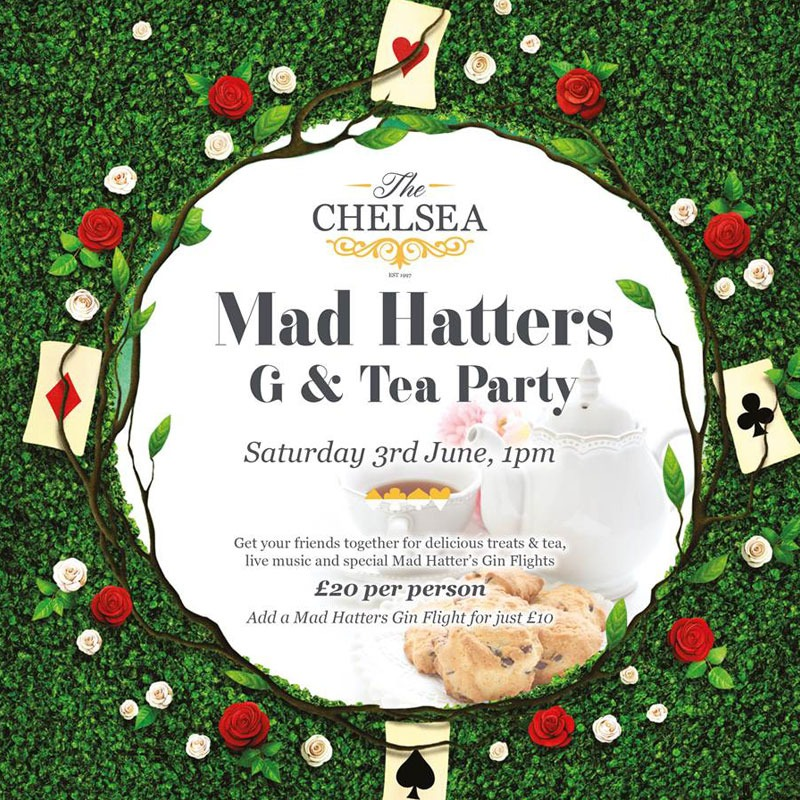 The Chelseamad-hatters-g-and-t-party 05.23.2017