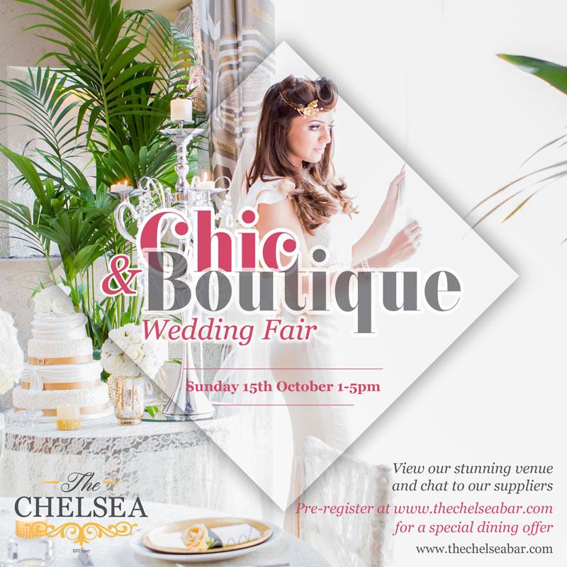 Chic boutique wedding fair bar restaurant lisburn road for Chic modern boutique